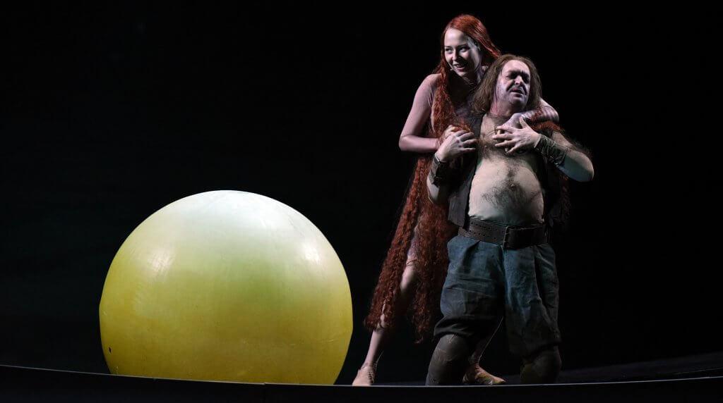Wellgunde in Das Rheingold, Hessisches Staatstheater Wiesbaden  ©Monika Forster