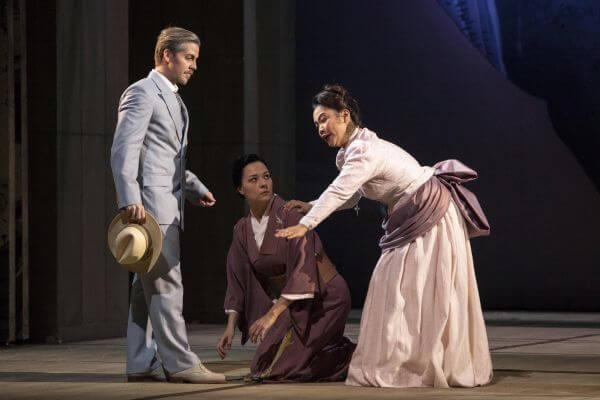 Suzuki in Madama Butterfly, Hessisches Staatstheater Wiesbaden, ©Sven-Helge Czichy