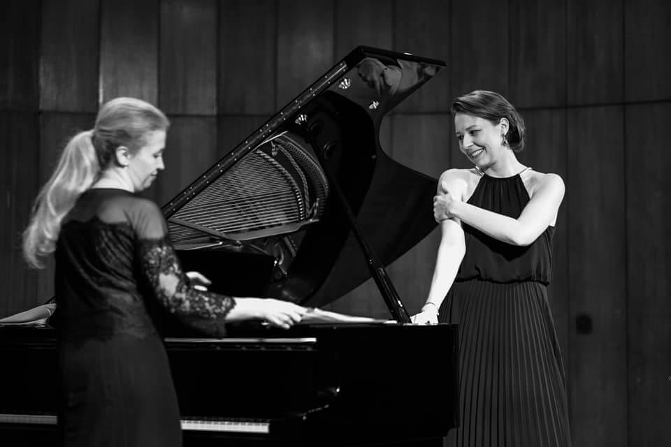Recital at the Acadmemy of Music in Cracow ©Dominika Antczak