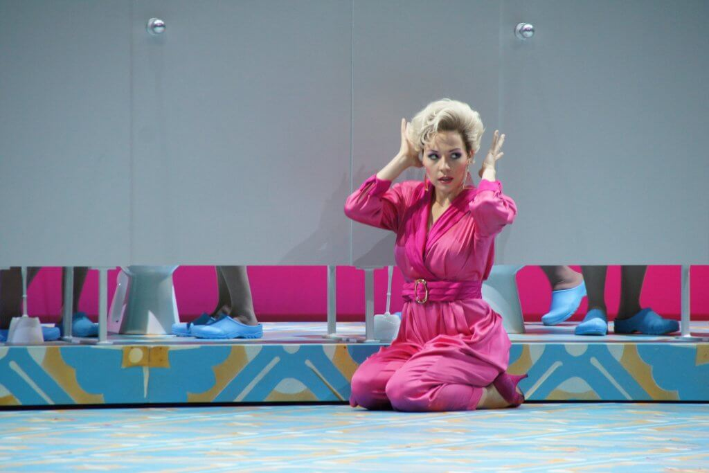 Gianetta in L'elisir d'amore, Oper Köln  ©Xenia Lassak